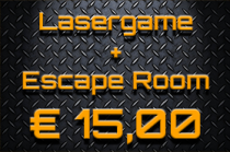 LASERGAME + ESCAPE ROOMss